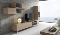 Moderne Wohnwand / Holz