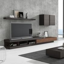 Moderne Wohnwand / lackiertes Holz / Modul