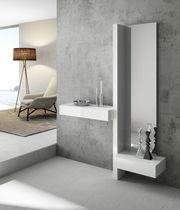 Moderner Eingangsbereich / wandmontiert / Holz