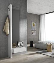 Moderne Eingangsbereich / wandmontiert / Holz