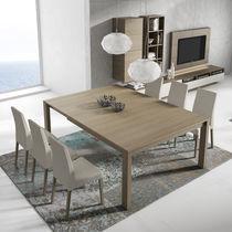 Moderne Esstisch / Holz / quadratisch / rechteckig