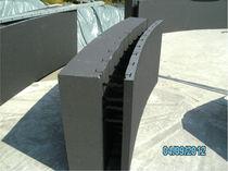 Polystyrolschalungsstein / für gewölbte Wand / dämmend
