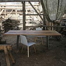 Moderner Tisch / Holz / rechteckig / Contract