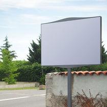 Außenbereich-Werbeträger / Aluminium