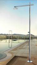 Außendusche für Schwimmbecken / Edelstahl