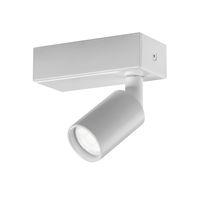 LED-Schienenleuchte / rund / Aluminium / Gewerbe