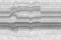 Moderne Tapeten / Vinyl / Streifenmuster / 3-D Effekt