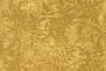 Moderne Tapeten / Vinyl / mit Naturmotiv / gold