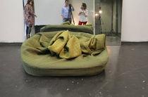 Birnenförmig-Sessel / originelles Design / Textil