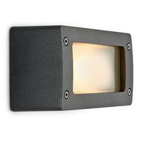 Klassische Wandleuchte / für Außenbereich / aus Aluminium / Halogen
