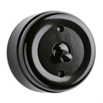 Kippschalter / Bakelite® / klassisch / schwarz
