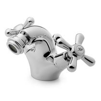 Mischbatterie für Bidet / frei stehend / Messing / für Badezimmer