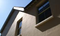 Vertikalschiebefenster / Holz / Doppelverglasung / Wärmedämmungen