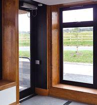 Vertikalschiebefenster / Holz