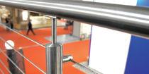 Metallgeländer / Kabel / Innenbereich / für Treppen