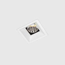 Einbaudownlight / LED / quadratisch / aus Gusseisen