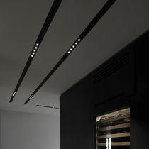 Beleuchtungsprofil für Decke / zum Einbauen / LED / für öffentliche Plätze modulierbar