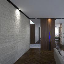 Beleuchtungsprofil zum Einbauen / LED / für öffentliche Plätze modulierbar