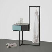 Nachttisch / modern / Metall / aus MDF