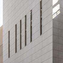 Fassadenverkleidung für hinterlüftete Fassade / aus Keramik / poliert / Platten