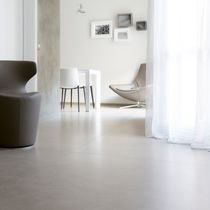 Keramikbodenbelag / zur gewerblichen Nutzung / glatt / Steinoptik