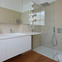 Holzfaserwandverkleidung / für Wohnbereich / Hochglanz / Marmoroptik