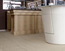 Keramikbodenbelag / zur beruflichen Nutzung / Fliese / Hochglanz
