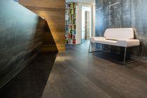 Holzfaserwandverkleidung / für Wohnbereich / Hochglanz / Metalloptik