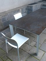Dekorpaneel für Möbel / aus Keramik / 3-D Effekt / Metalloptik