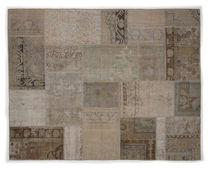 Orientteppich modern  Orient-Teppich / modern / Patchwork / Wolle - 3043 - REMADE