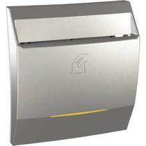 Kartenschalter / Aluminium / modern / LED-Anzeige