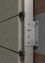 Aluminium-Befestigungssystem / für Fassadenverkleidung / für hinterlüftete Fassade / Außen
