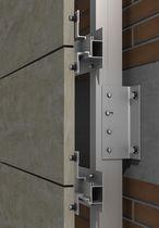 Edelstahl-Befestigungssystem / Aluminium / für Fassadenverkleidung / für hinterlüftete Fassade