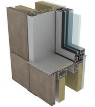 Metall-Befestigungssystem / für Vorhangfassade / für Fassadenverkleidung / für hinterlüftete Fassade