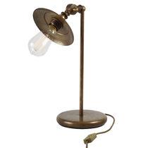 Tischlampe / Industriestil / Messing / Innen