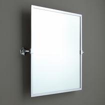 Wandmontierter Spiegel für Badezimmer / zum Kippen / Stil / rechteckig