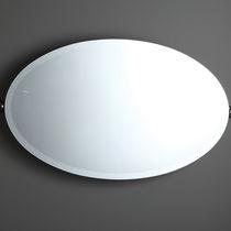 Wandmontierter Spiegel für Badezimmer / zum Kippen / Stil / oval