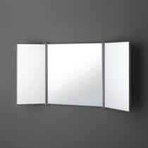 Wandmontierter Spiegel für Badezimmer / Stil / rechteckig / für Hotels