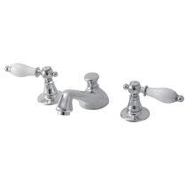 Waschtisch-Mischbatterie / freistehend / Messing / für Badezimmer