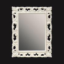 Wandmontierter Spiegel für Badezimmer / Stil / rechteckig