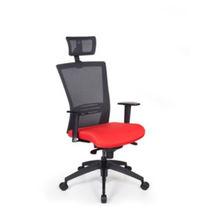 Moderner Sessel für Büro / Maschen / Stoff / höhenverstellbar