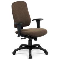 Moderner Bürostuhl / Hochlehner / drehbar / mit Rollen