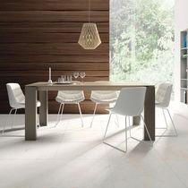 Esstisch / modern / Holz / aus Keramik