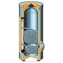 Bodenstehender Warmwasserspeicher / vertikal / zur gewerblichen Nutzung / Wohnbereich