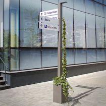 Stahlschild / Edelstahl / Orientation / für Außenbereich