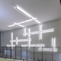 Beleuchtungsprofil für Aufbau / LED / für öffentliche Plätze modulierbar / dimmbar
