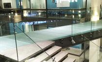 Glas-Bodenbelag / zur gewerblichen Nutzung / öffentliche Bereiche / Fliesen