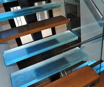 Gerade Treppe / Viertelgewendelte / halbgewendelte / Glasstufen