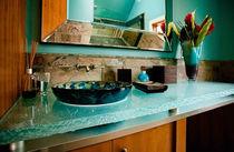 Glas-Waschtischplatte