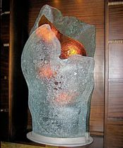 Glasskulptur / für öffentliche Einrichtungen